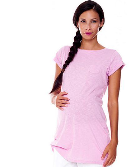 catalogo benetton premama camiseta rosa