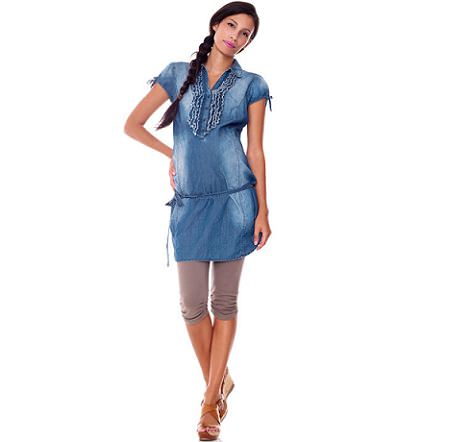 catalogo benetton premama denim
