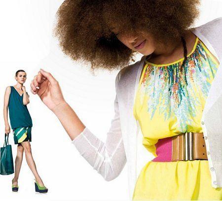 catalogo benetton primavera verano 2012 amarillo