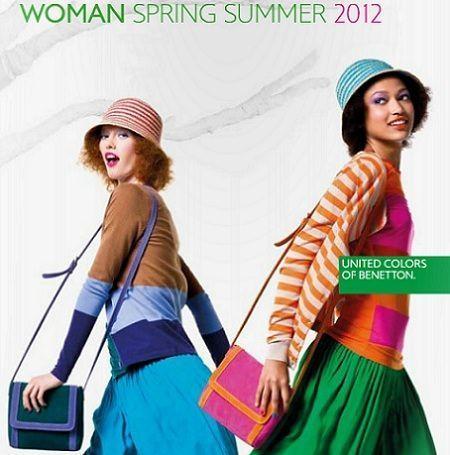 catalogo benetton primavera verano 2012 colores