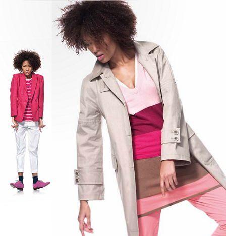 catalogo benetton primavera verano 2012 rosa