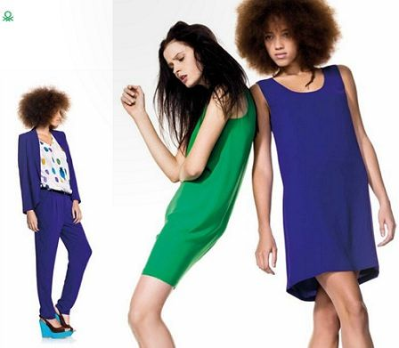 catalogo benetton primavera verano 2012 vestidos