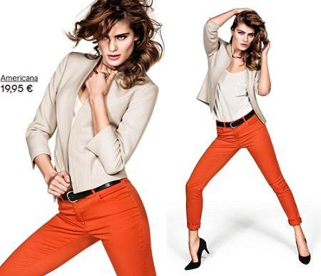catalogo hm pantalon naranja