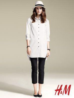 catalogo hm primavera verano 2011 camisa