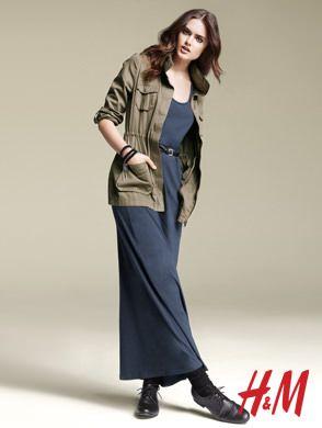 catalogo hm primavera verano 2011 vestido-largo
