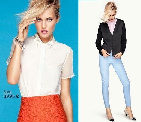 catalogo hm primavera verano 2012 camisa