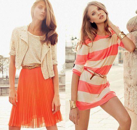 catalogo mango primavera verano 2012 falda plisada