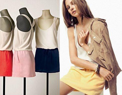 catalogo mango primavera verano 2012 vestidos cortos