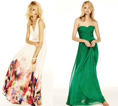 catalogo mango primavera verano 2012 vestidos largos