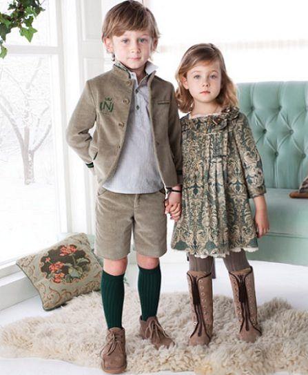 catalogo nanos otono invierno vestido verde