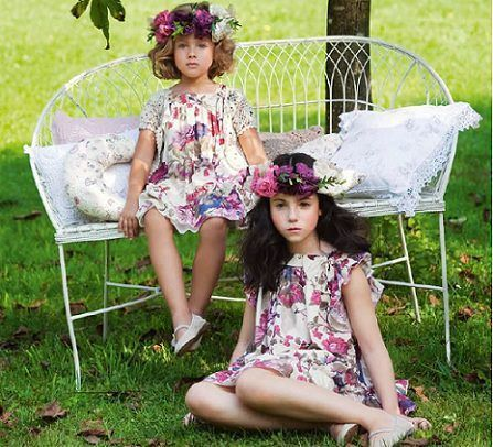 catalogo nanos primavera verano vestido flores