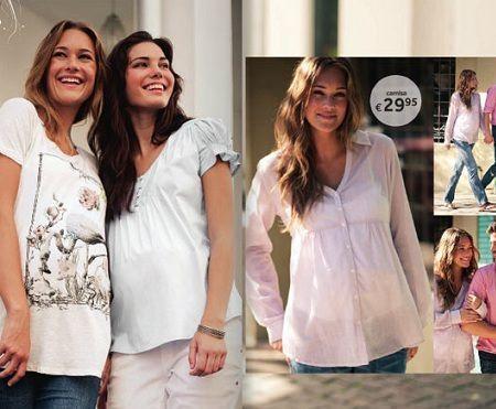 catalogo prenatal primavera verano camisas