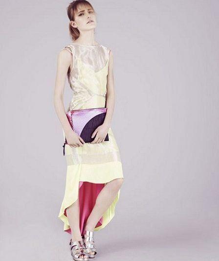 catalogo topshop primavera verano vestido asimetrico