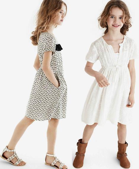 catalogo zara niños primavera verano 2012 vestidos