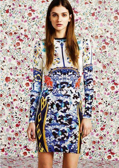 top shop primavera verano 2012 linea vestido versace