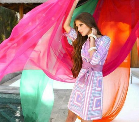 catalogo almatrichi primavera verano vestido pastel