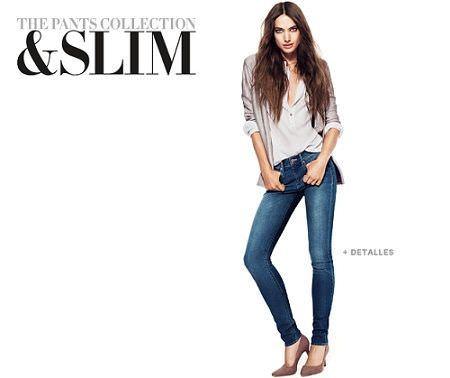 catalogo hm pants collection jeans pitillo