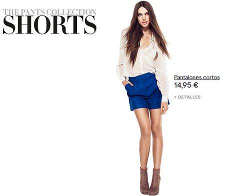catalogo hm pants collection short