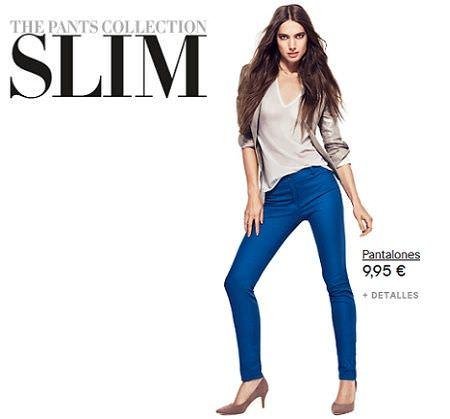 catalogo hm pants collection slim