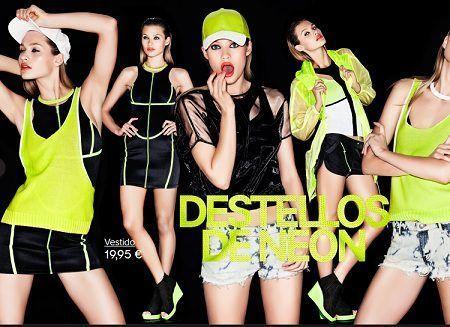catalogo hm primavera verano 2012 neon