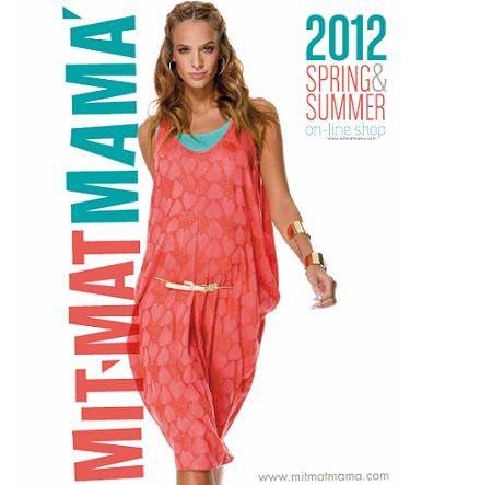 catalogo mit mat mama primavera verano 2012 portada