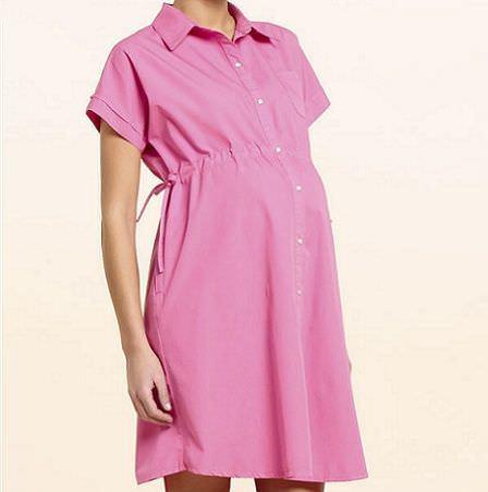 catalogo premama el corte ingles vestido rosa