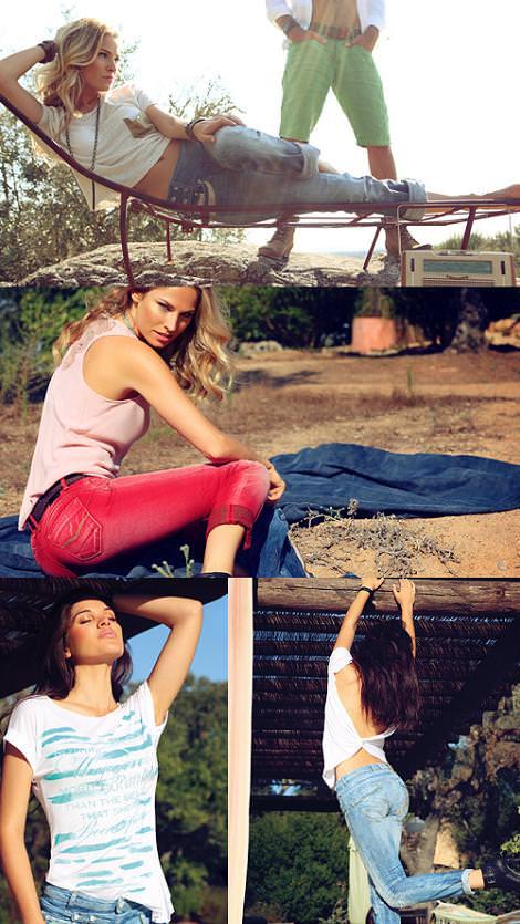 catalogo salsa primavera verano 2012 jeans