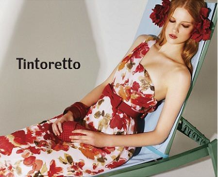 catalogo tintoretto primavera verano 2012 vestido largo