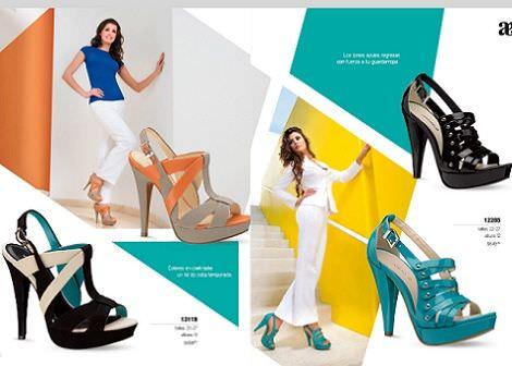 zapatos andrea primavera verano 2012 sandalia colores