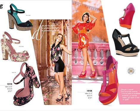 zapatos andrea primavera verano 2012 sandalia flores