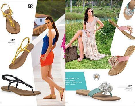 zapatos andrea primavera verano 2012 sandalia plana