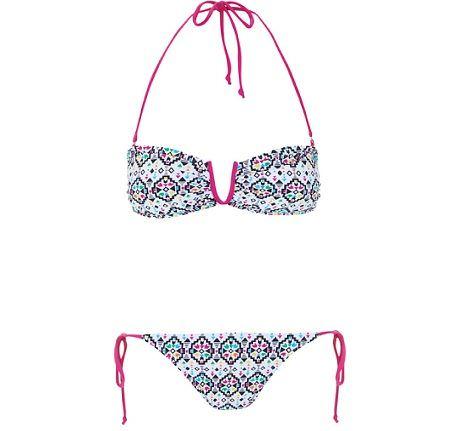 blanco bikinis 2012 geometrico