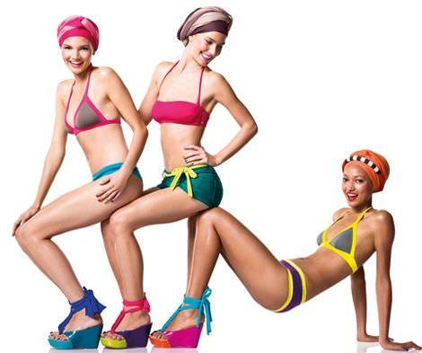 catalogo benetton bikinis 2012 colores