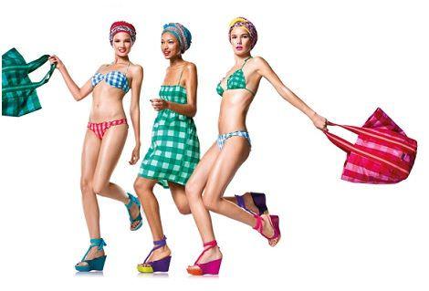 catalogo benetton bikinis 2012 cuadros