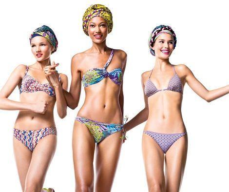 catalogo benetton bikinis 2012 estampados