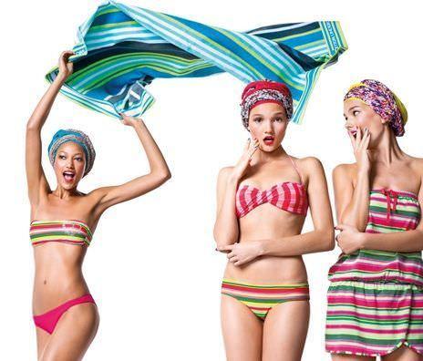catalogo benetton bikinis 2012 rayas