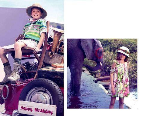 catalogo catimini primavera verano 2012 rayas colores