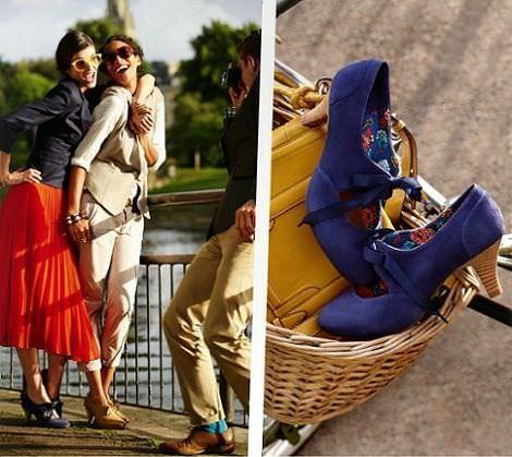 catalogo clarks primavera verano 2012 zapato lazo detalle