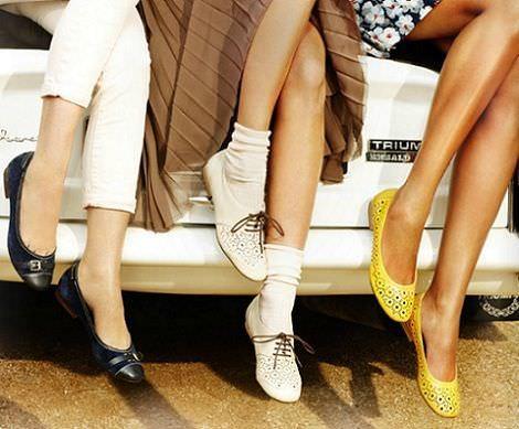 catalogo clarks primavera verano 2012 zapato plano