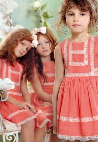 catalogo el corte ingles moda infantil nina vestidos coral