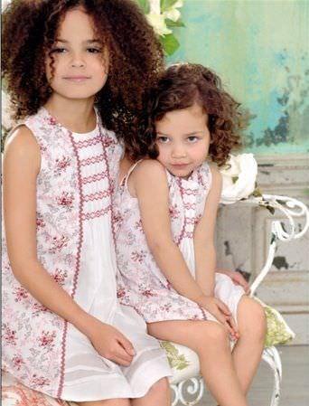 catalogo el corte ingles moda infantil nina vestidos flores