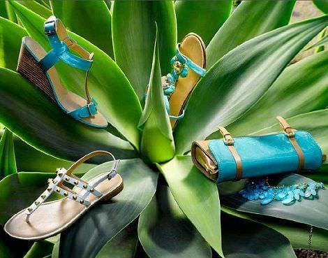 catalogo gosco primavera verano 2012 zapatos turquesa