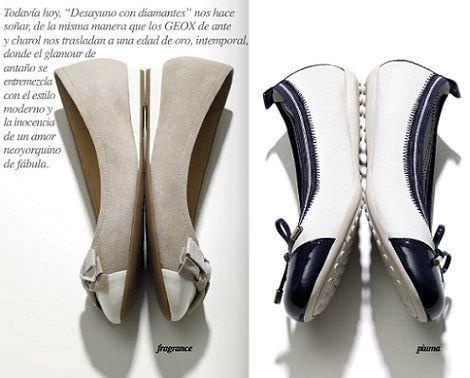 catalogo geox primavera verano 2012 bailarinas puntera