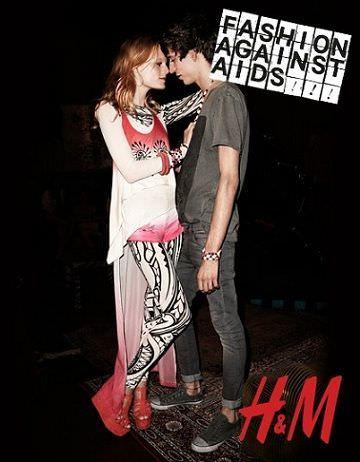 catalogo hm fashion against aids tie die