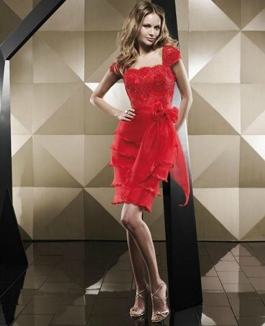 catalogo pepe botella primavera verano vestido corto rojo