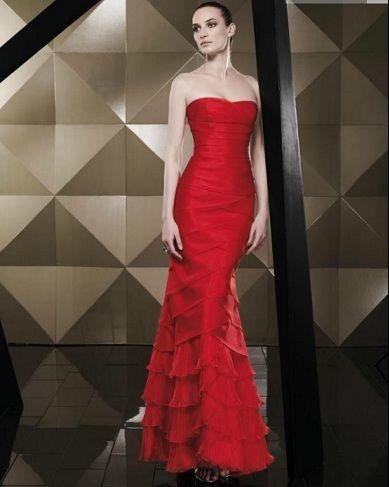 catalogo pepe botella primavera verano vestido largo rojo