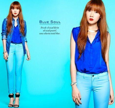 mango primavera 2012 camille colorful blue