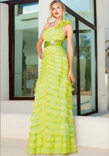sonia pena primavera verano 2012 vestido lima