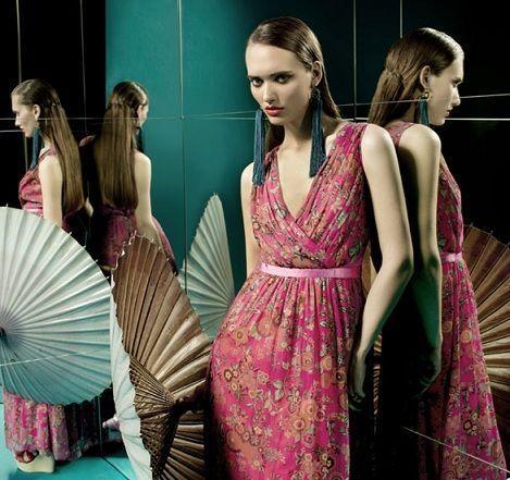 tonala primavera verano 2012 vestido rosa