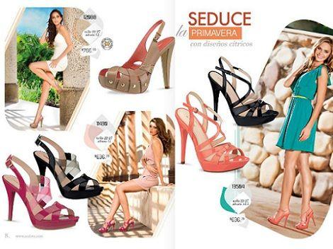 catalogo zapatos andrea primavera verano 2013